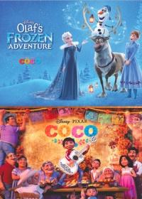 Coco + Olaf's Frozen Adventure-posser