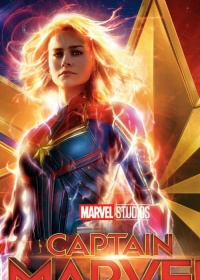 Captain Marvel-posser